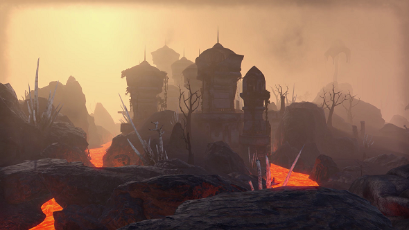 How Zenimax are faithfully realising Morrowind in Elder Scrolls Online, down to the Red Mountain
