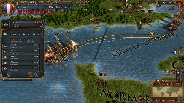 A battle royale in Europa Universalis IV: two routes to power