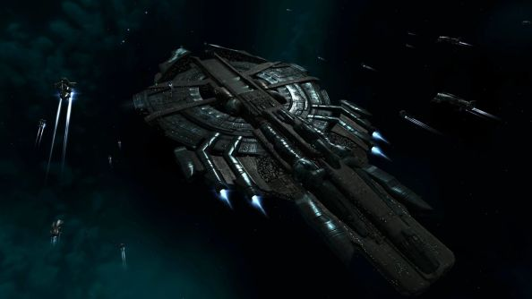 EVE Online is altering the laws of physics to allow capital ships to fit through stargates