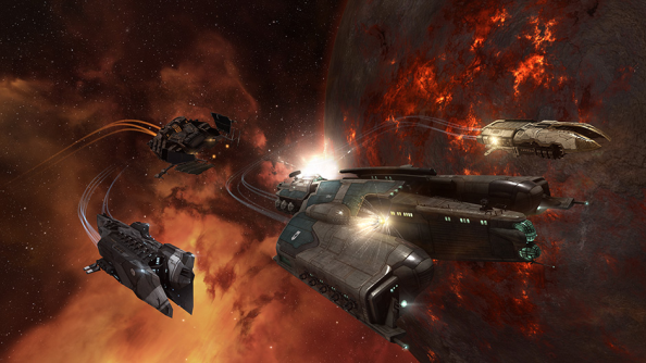 Watch the changing fortunes of Eve Online's corporate empires