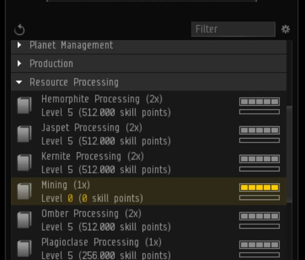 EVE Online Skill Trading