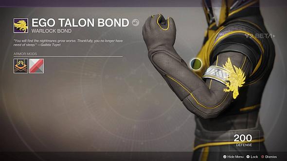 Ego Talon bond