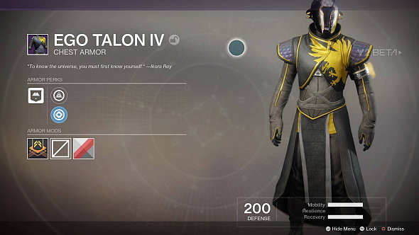 Ego Talon IV Chest
