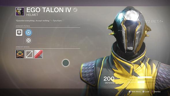 Ego Talon IV helmet
