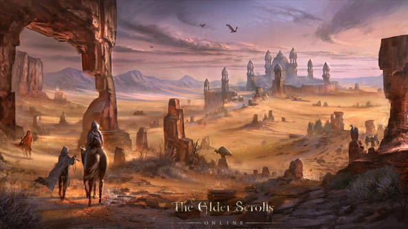 Elder Scrolls Online concept art shows we're going to be travelling further afield than ever before