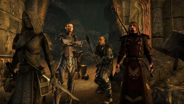 Elder Scrolls Online video demonstrates groups saving the world from an evil