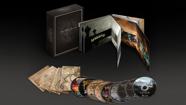 Bethesda reveal The Elder Scrolls Anthology: (almost) all of the Elder Scrolls in one box