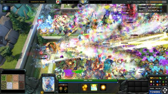Best Dota 2 custom games Element TD