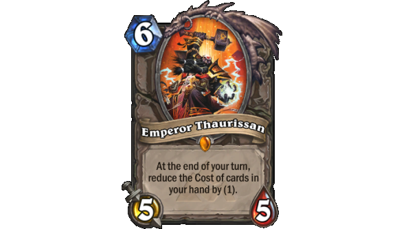 Best Hearthstone Legendary cards Emperor Thaurissan
