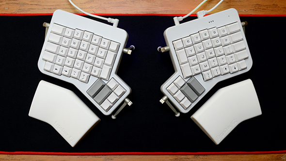 ErgoDox EZ ergonomic keyboard