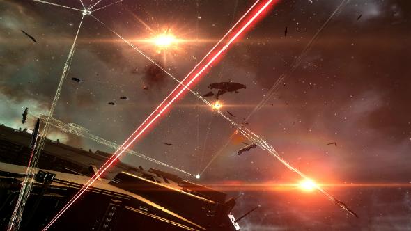 Eve Online battles