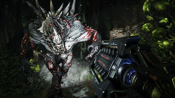 Turtle Rock unveil four new hunters in Evolve