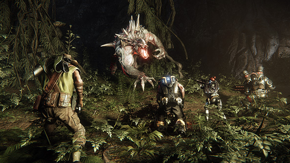 Evolve is basically Big Game Hunter where one player controls the deer, except the deer is really big and pissed off