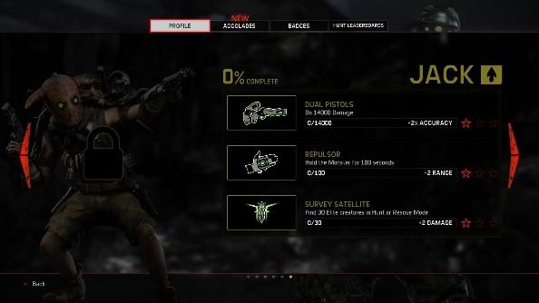 Evolve DLC Jack lock screen