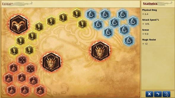 ezreal runes
