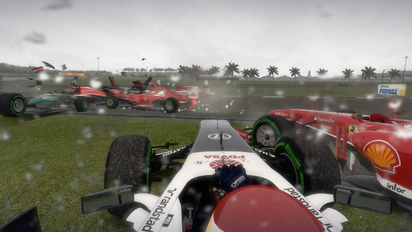 F1 2013 review accident