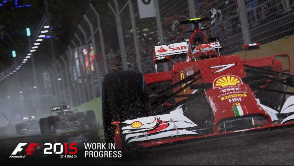 Codemasters announce F1 2015, throw-in the 2014 season