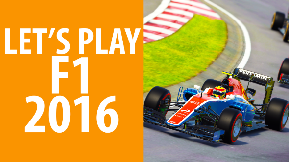 F1 2016 let's play