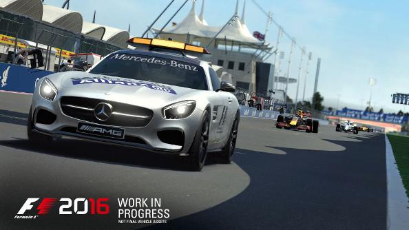 F1 2016 safety car