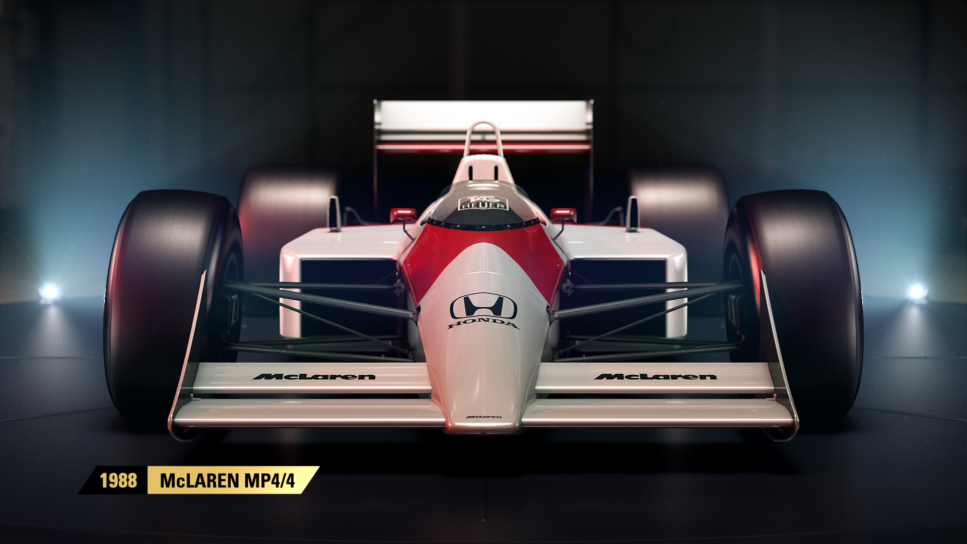 You can drive Senna's 1988 McLaren and Mansell's 1992 Williams in F1 2017