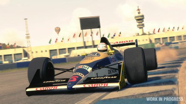 F1 classic cars