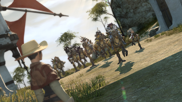 FFXIV%20Lead Square Enix release FFXIV character creator/benchmark/trailer rolled into one