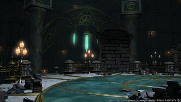 FFXIV Heavensward dungeon