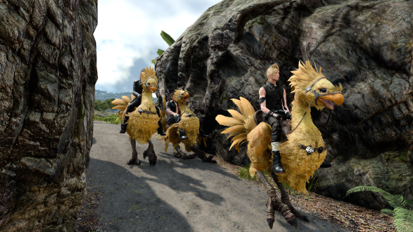 Final Fantasy 15 Chocobo