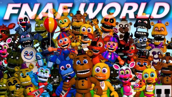 Fnaf World Release Date Revealed Jrpg Spin Off Will Be
