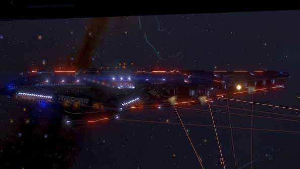 Elite: Dangerous Capital Ship 2