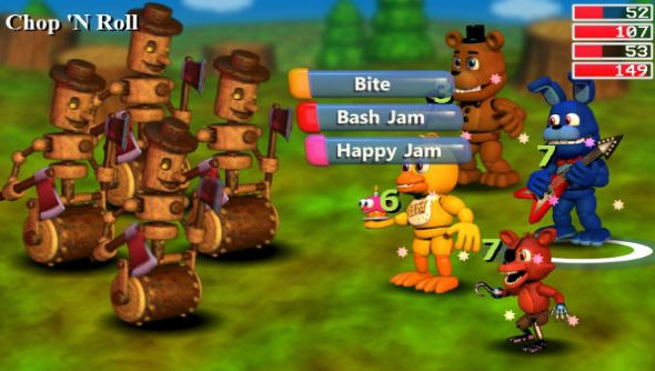 FNaF World out now
