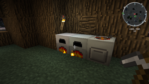 Minecraft Feed the Beast Furnace