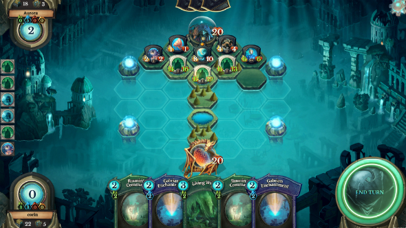 Faeria is a strategic card game where the board actually matters, and it's going F2P