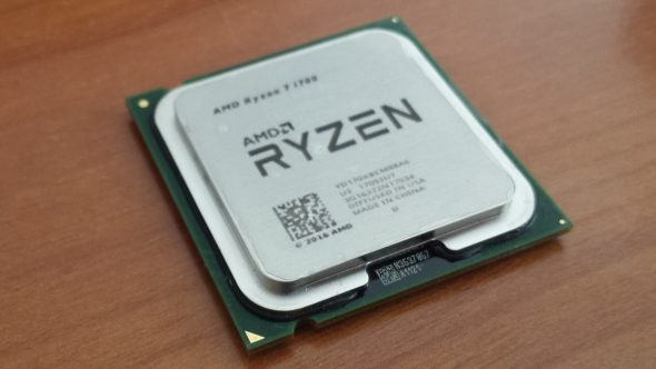 Fake AMD Ryzen Chip