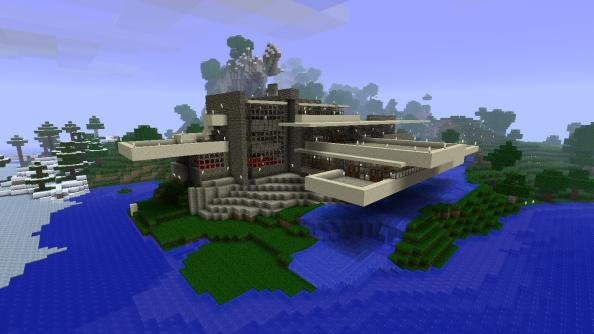 Fallingwater_Minecraft