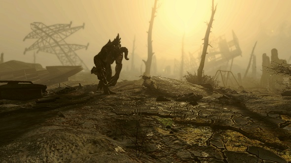 Fallout 4 Glowing Sea Deathclaw