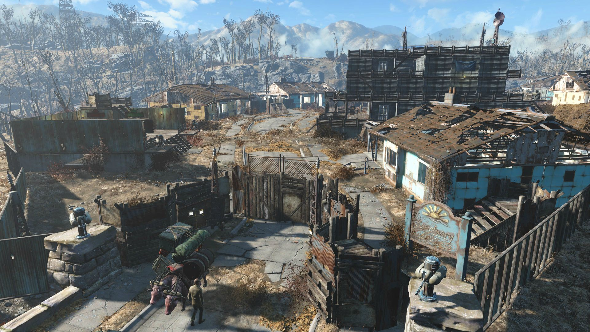 Fallout  Mod For Settlements To Build Themselves Up