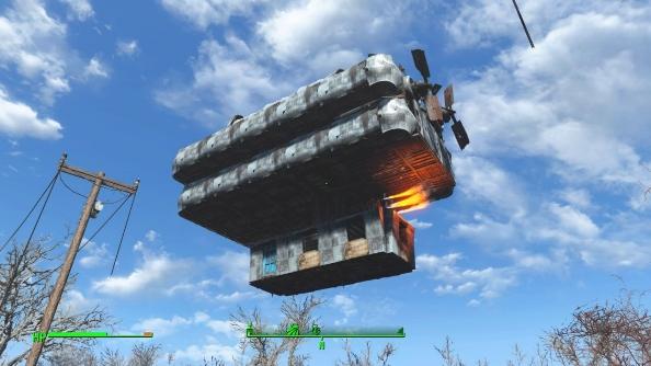 Fallout 4 settlements airship