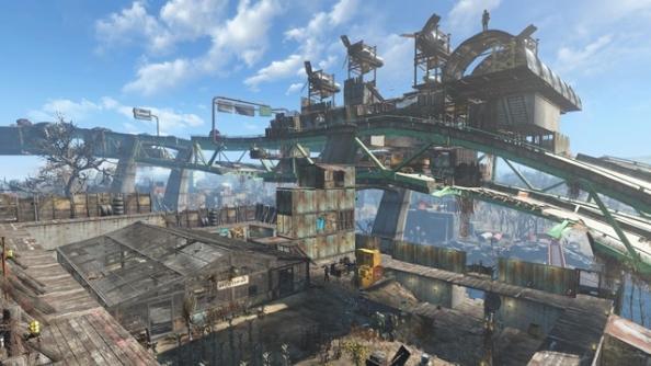 Fallout 4 settlements Graygarden