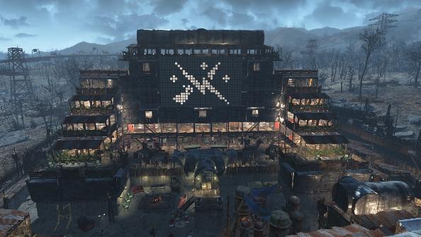 Fallout 4 settlements Starlight Bazaar