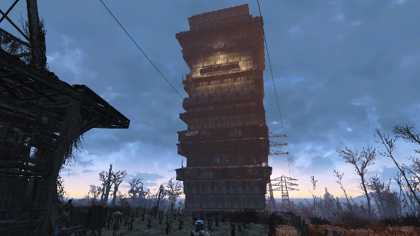 Best Fallout 4 settlements Abernathy Tower
