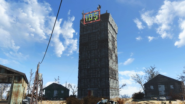 Best Fallout 4 settlements Ten Dollar Tower