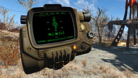 Fallout 4 VR Pip Boy