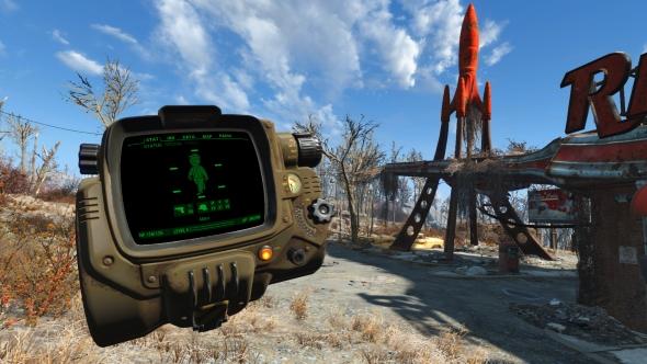 Fallout 4 VR Pip-Boy