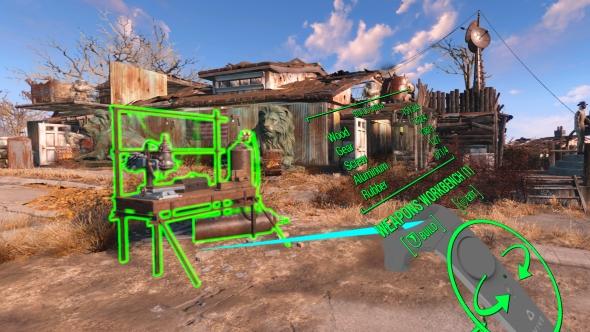 Fallout 4 VR settlement construction