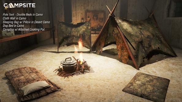 Fallout 4 mod campsite