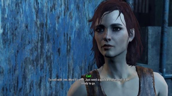 Fallout 4 companions guide cait