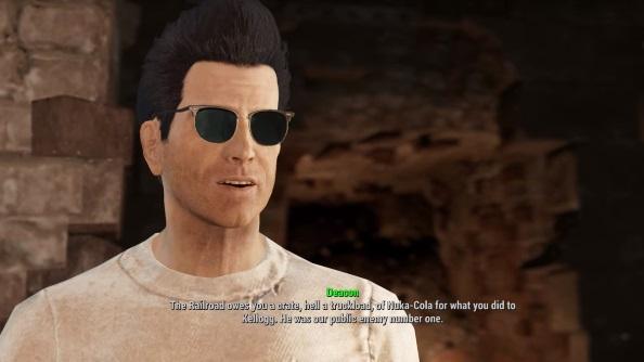 Fallout 4 companions guide deacon