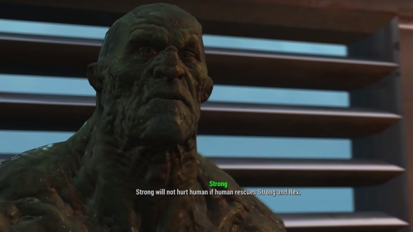 Fallout 4 companions guide strong