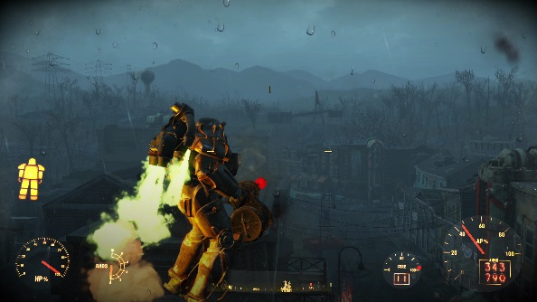 Fallout 4 mods remove power armour drain